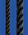 Birolen cordage, Seilflechter, black, 6mm, 300m