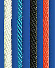 Spiral Birotex rope, Seilflechter, blue, 6mm, 450m