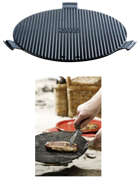 griddle grillrost aus aluminium mit non stick beschichtung f r cobb grill. Black Bedroom Furniture Sets. Home Design Ideas