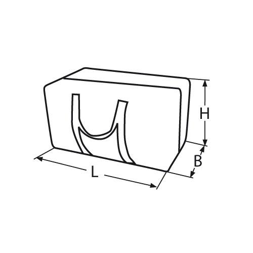zubeh r tasche aus nylon gelb. Black Bedroom Furniture Sets. Home Design Ideas