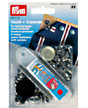 Prym press fasteners and press fasteners, screw-on