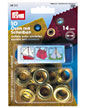 Prym eyelets and eyelets with washer