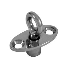 Swivel locking eye - straight, 44mm, 22mm