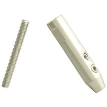 ESS swage stud, for wire rope, 3mm stainless steel, A4