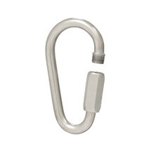 Pear shape quick link,  4mm, 32x61mm