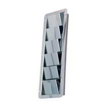 Vent, stainless steel, 206x113mm