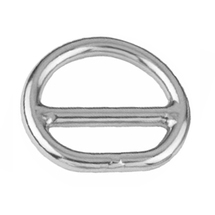 Double layer dee ring, 6mm, 28mm, 20mm