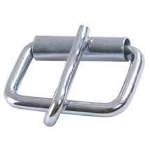 Roll buckle, blink zinced, 30mm