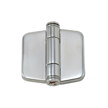 hinge with sanp-down cover 42mm stainless steel, A4