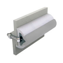Vinyl rubbing strakes, type Poly3026, white, light grey, 30x26mm, 20m