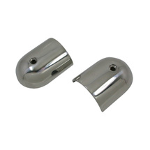 Rub end caps, stainless steel, 60x47mm, 19mm