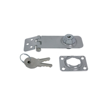 swivel hasp with lock, 30mm, 98mm